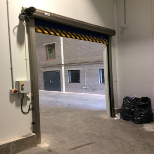 External Rapid Rise Door